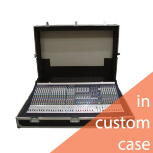 Soundcraft MH3 28 Channel Console In Custom Flightcase