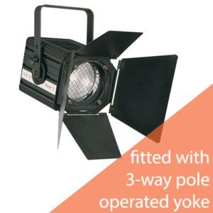 Spotlight Combi Fresnel For 1000/1200W