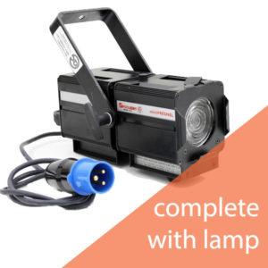 Spotlight Mini Fresnel MSD250 Discharge Lantern