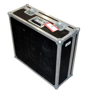 Flightcase to Suit 5 x Chroma-Q Color Block LED Fixture - Black Finish