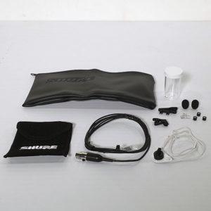 Shure WL50 Sub Miniature Cardioid Microphone, Black