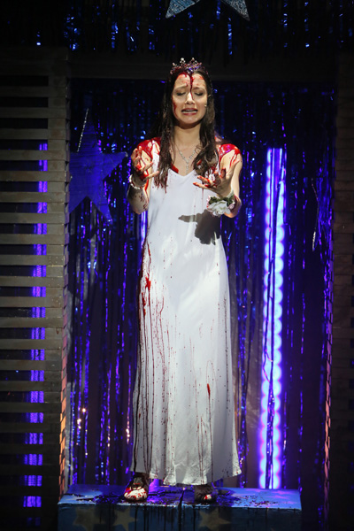 Chroma-Q Color Force II Lighting GSA Carrie the Musical