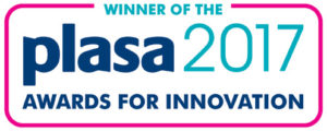 Winner of PLASA 2017 Awards for Innovation