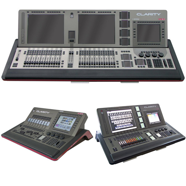LSC Clarity console range