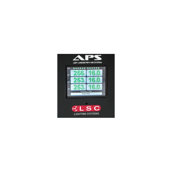 LSC APS display close-up