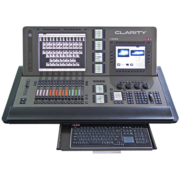 LSC LX600 with keyboard drawer open