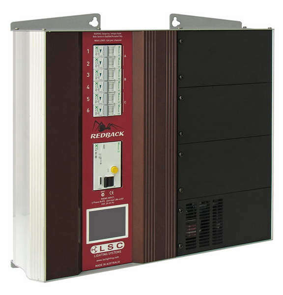 LSC Redback wall mounted dimmer & relay