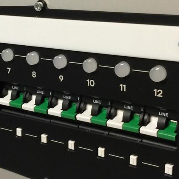 StageSmarts Smart PDU circuit breakers