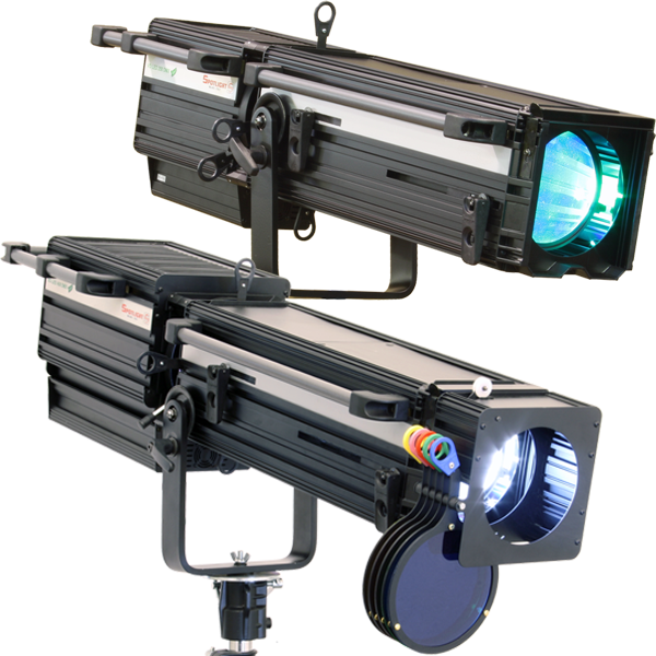 Spotlight Vedette LED Followspots