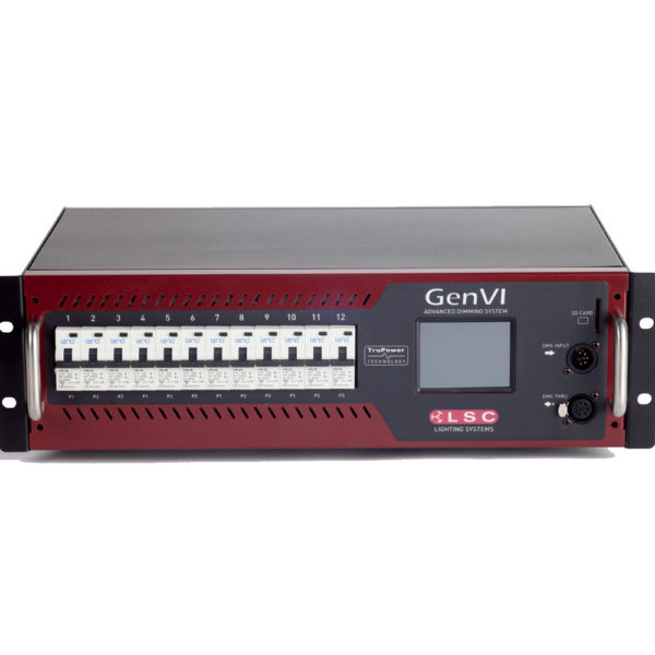 LSC GenVi Rack Mount Dimmer