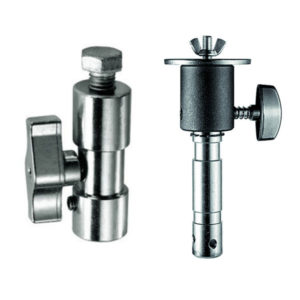 Manfrotto Lighting Spigots - Spigot Adaptor 28mm to 16mm, Pan Spigot M12