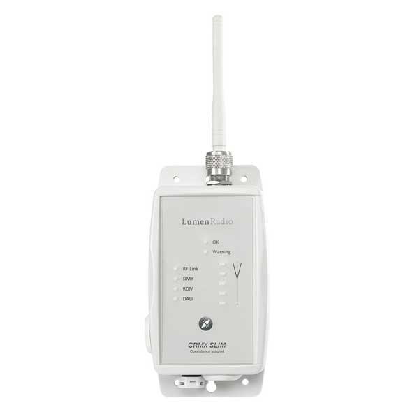 LumenRadio CRMX Slim RX RDM - IP65 RDM Receiver with DALI