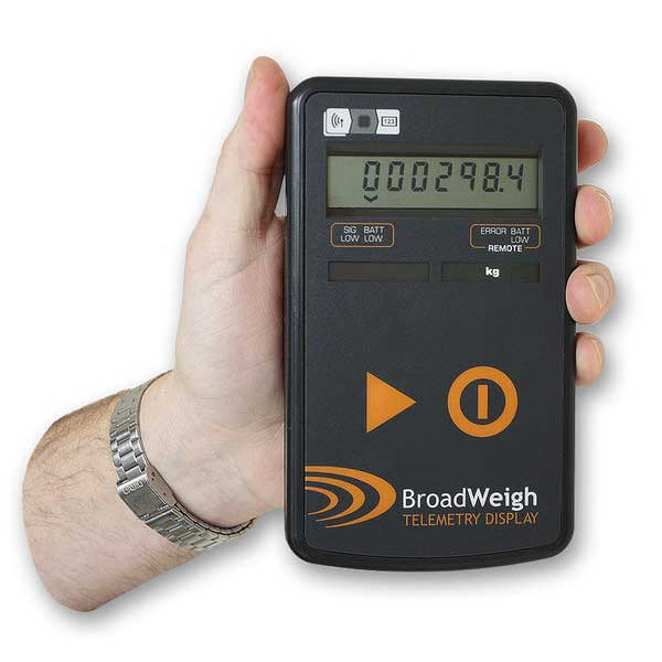 BroadWeigh Wireless Handheld Display