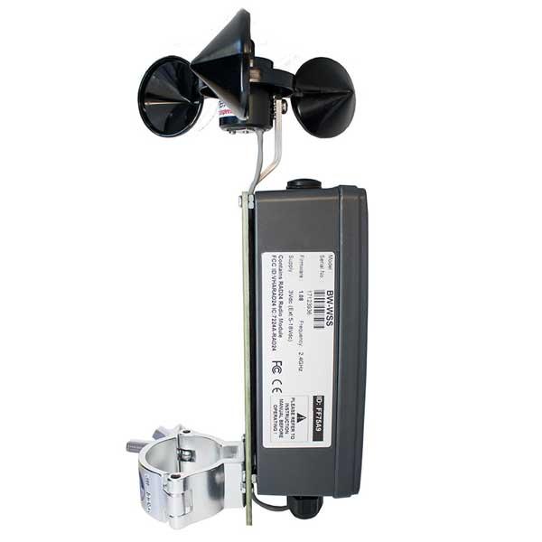 BroadWeigh Wireless Wind Speed Sensor side