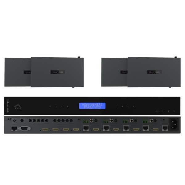 HDanywhere MHUB 4K PRO (4x4) 70 Multi-Room Control Hub