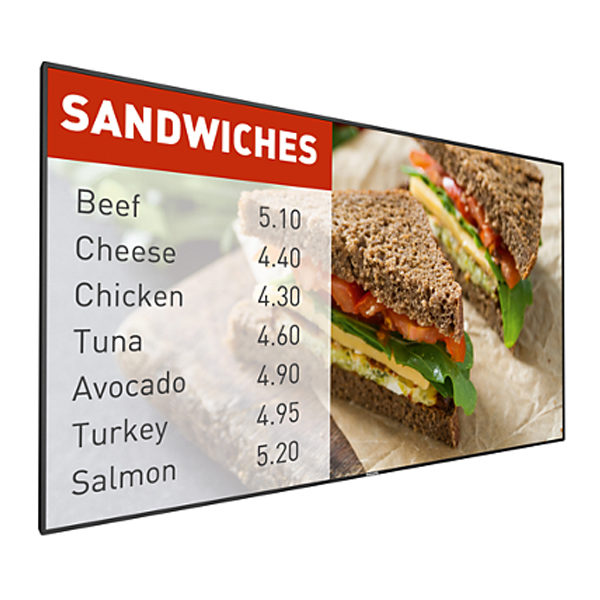 Philips P-Line Series Super Slim Bezel Signage Displays