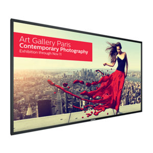 Philips U-Line Series Ultra HD 4K Signage Displays