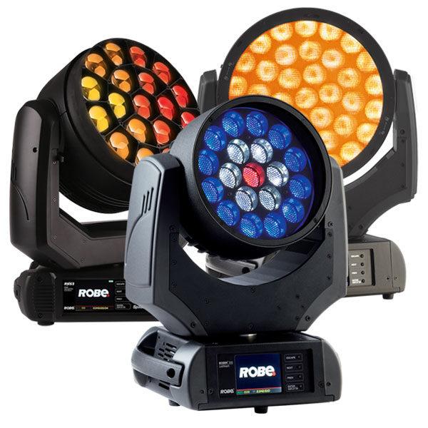 Robe Moving Wash Lights - LED Wash 300+ 800 Spider
