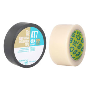Advance Tape 19mm PVC, 33mm clear dancefloor tape