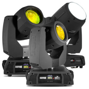 Chauvet Moving Beam Lights - Rogue R2 Beam Rogue R1 Beam Intimidation Beam