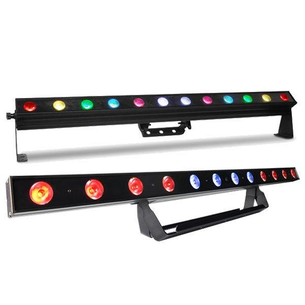 Chauvet Static Batten Lights - Colordash Batten Quad 12 Colorband Pix USB
