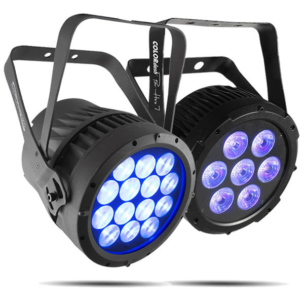 Chauvet Static Lights PAR - COLORado 2 Quad Zoom COLORdash Par Hex 7