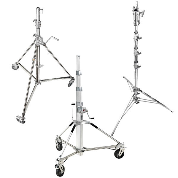 Manfrotto Stands & Support - Long John Silver, Super Wind up 40, Combo Steel Stand 45