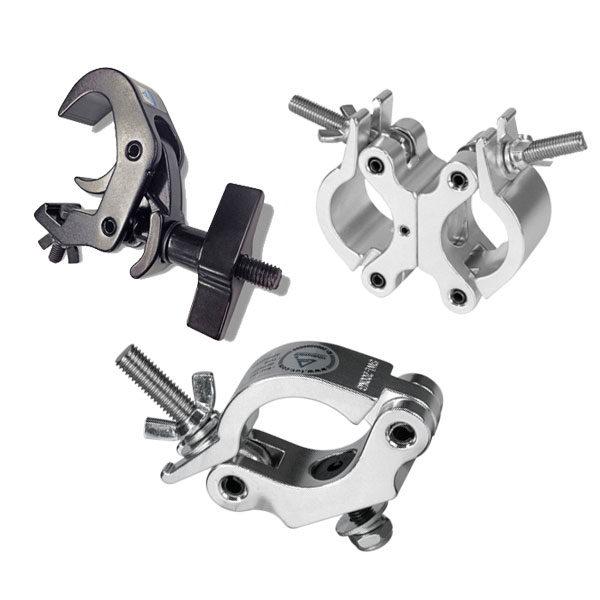 ProTruss Hook Clamps & Couplers - C6016B, C6002A, C6003B