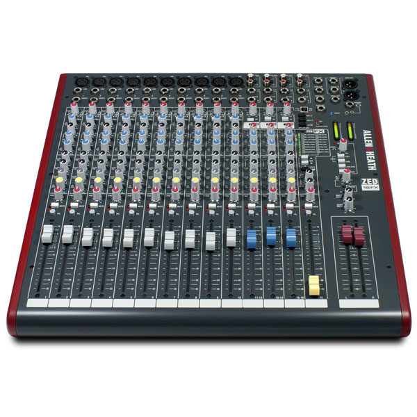 Allen & Heath Analogue Mixers ZED16FX