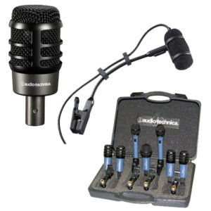 Audio-Technika Instrument Microphones - ATM250, ATM350UL, MB/DK7