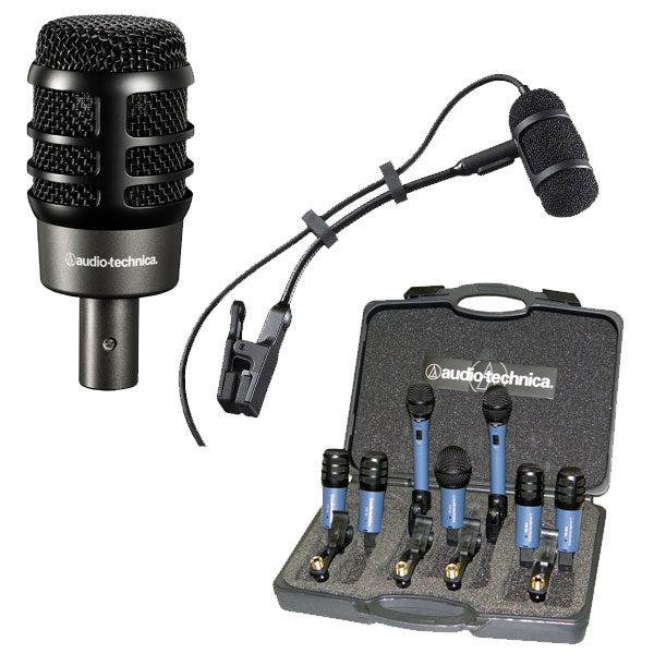 Audio-Technika Instrument Microphones - ATM250, ATM350UL, MB/DK7