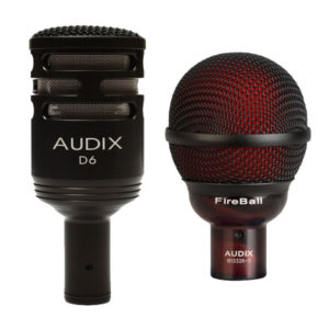 Audix Instrument Microphones - D6, Fireball