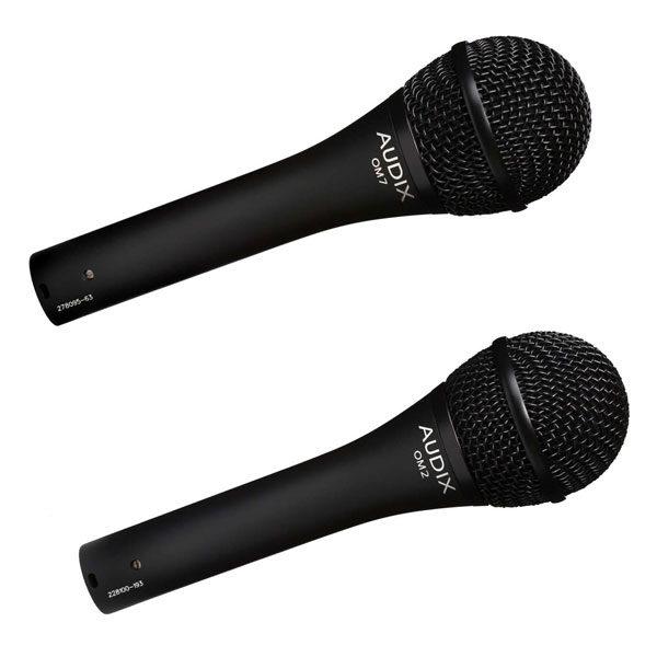 Audix Live Vocal Microphones - OM2, OM7