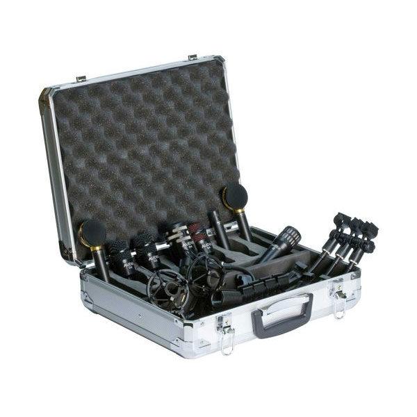 Audix Studio Microphones STE8 8-Piece Microphone Set