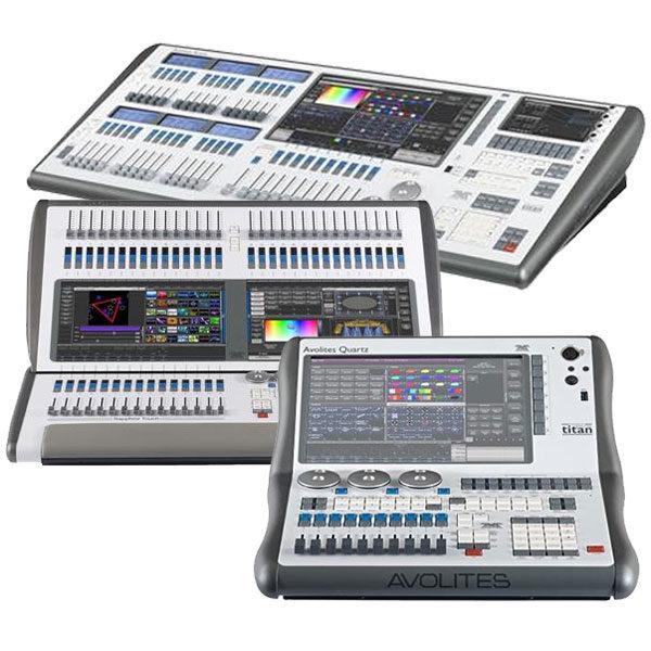 Avolites Lighting Control Consoles - Arena Sapphire Touch Quartz