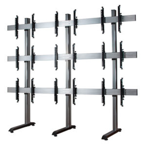 B-Tech BT8370 3x3 System-X Universal Video Wall Stand