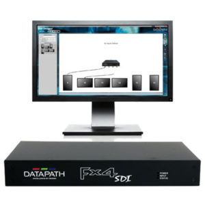 Datapath FX4-SDI Output Splitter Wall Designer Software