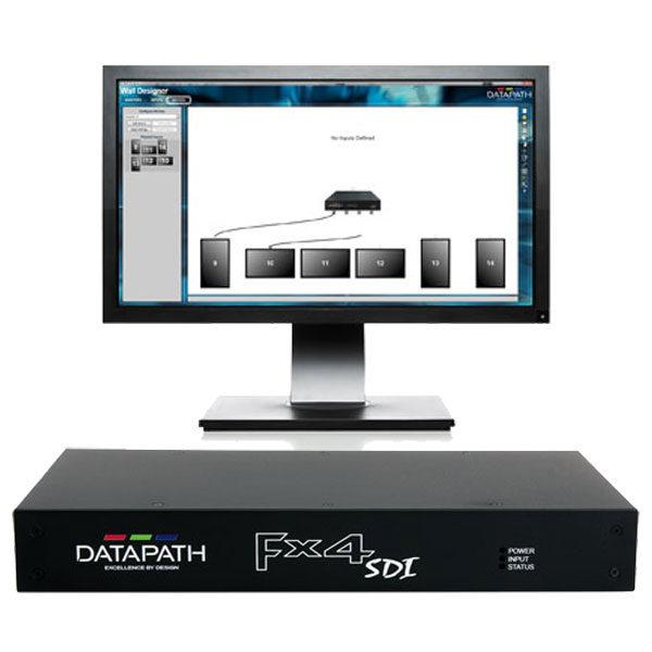 Datapath FX4-SDI Output Splitter Wall Designer Software