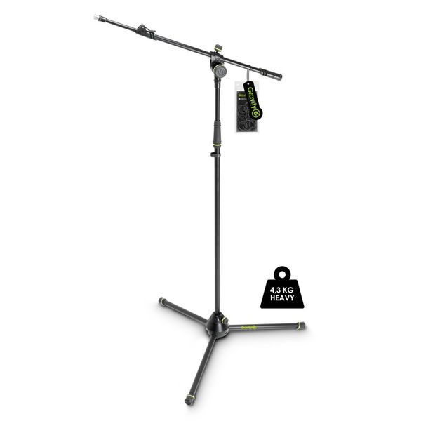 Gravity Microphone Stands GMS4322HDB Heavy Duty Microphone Stand