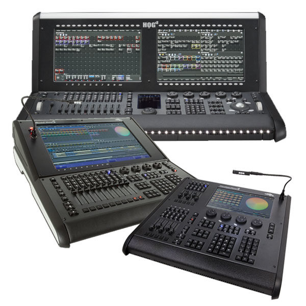 High End Systems Lighting Control Consoles - Hog 4 Road Hog Hedge Hog 4