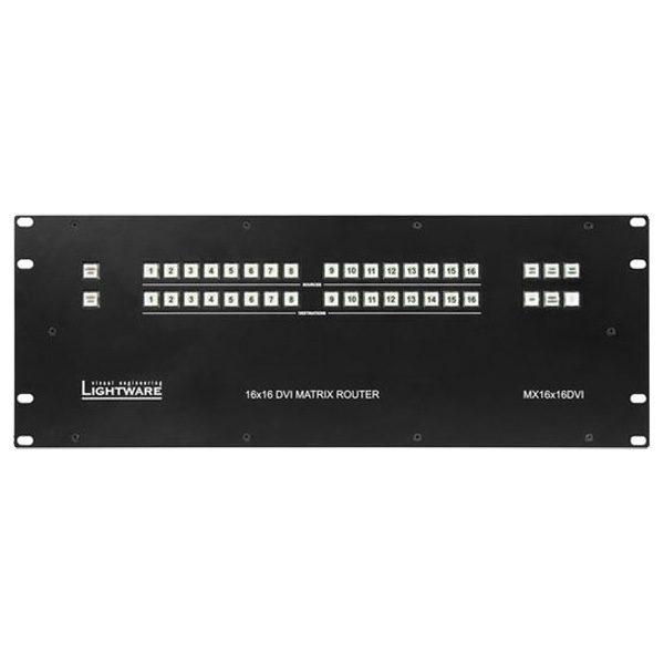 Lightware Matrices MX16x16DVI Matrix Router