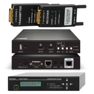 Lightware Transmitters Receivers DVI-OPT-TX220-PRO DVI-OPT-TX110-HDMI TPS-RX120-HDSR