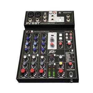 Peavey Analogue Mixers PV6 BT Bluetooth
