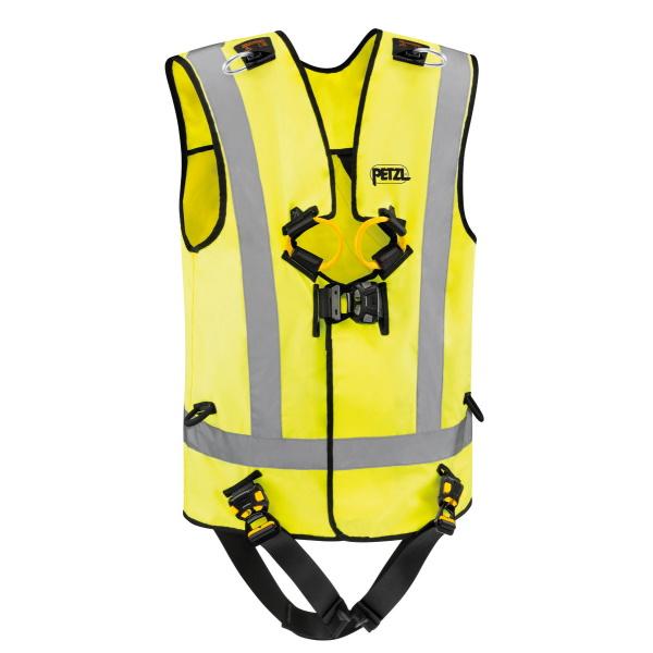 Petzl Safety Harnesses - NEWTON EASYFIT HIVIZ