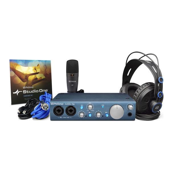 PreSonus Audio Interfaces Audio Box iTwo Studio USB Recording Bundle