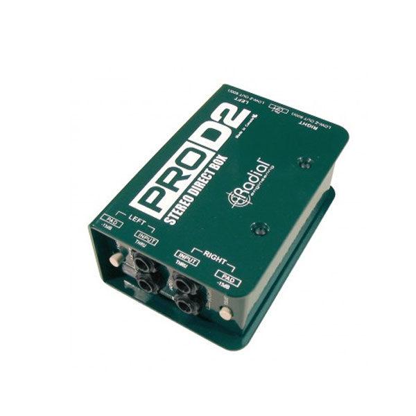 Radial DI Boxes PRO D2