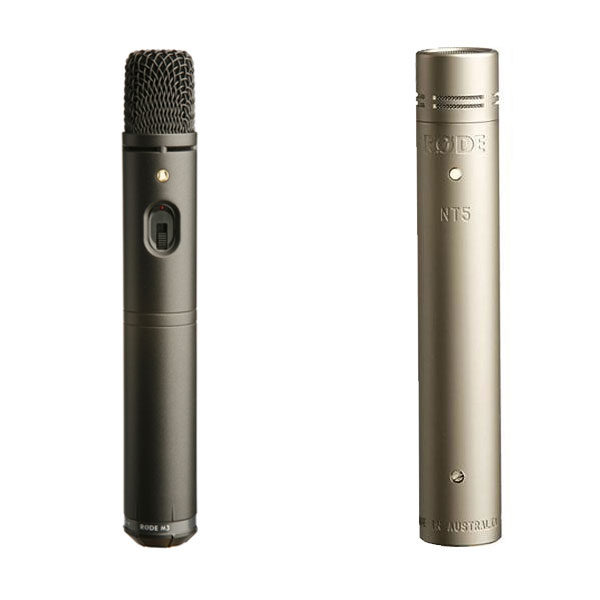 Rode Instrument Microphones - NT5, M3