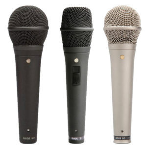 Rode Live Vocal Microphones - M1, M2, S1
