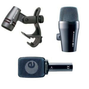 Sennheiser Instrument Microphones - E604, E906, E902