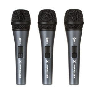 Sennheiser Microphone Sets e835S 3-Pack